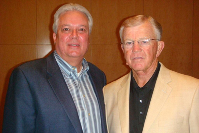 Michael and Joe Gibbs at 2009 ICRS