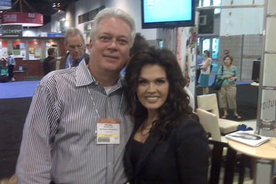 Michael and Marie Osmond at 2009 ICRS