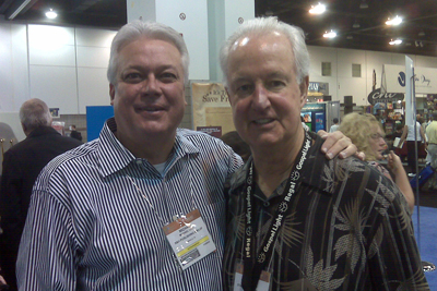 Michael with Pat Williams at 2009 ICRS